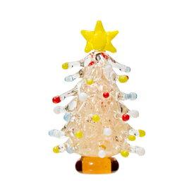 グラスコレクション ドットツリー ピンク 1個 クリスマス 関東当日便