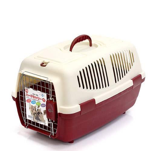 マルカン ハードキャリーM レッド 犬 猫 キャリーバッグ キャリーケース(4〜7kgまで) お一人様3点限り 関東当日便