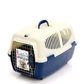 マルカン ハードキャリーM ブルー 犬 猫 キャリーバッグ キャリーケース(4〜7kgまで) お一人様3点限り 関東当日便
