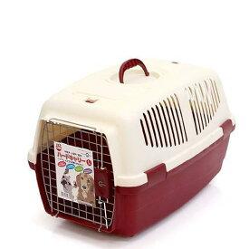 マルカン ハードキャリーL レッド 犬 猫 キャリーバッグ キャリーケース(5〜9kgまで) お一人様2点限り 関東当日便