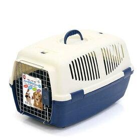 マルカン ハードキャリーL ブルー 犬 猫 キャリーバッグ キャリーケース(5〜9kgまで) お一人様2点限り 関東当日便