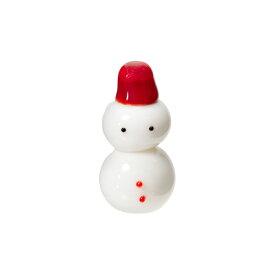 グラススクエア グラスコレクション 雪だるまさん 1個 クリスマス 関東当日便