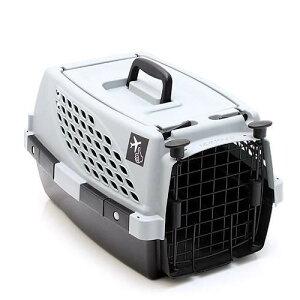 ペットスイート S グレー 犬 猫 うさぎ キャリーバッグ キャリーケース クレート(4.5kgまで)お一人様3点限り 関東当日便