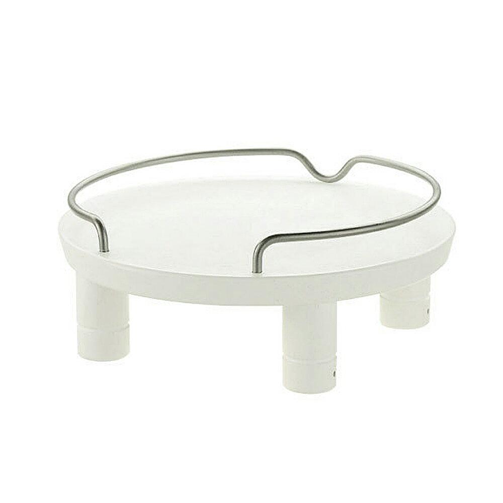 リッチェル ペット用 木製テーブル シングル ホワイト 犬用・猫用食器台 トレー 関東当日便