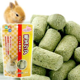 ハイペット 毛玉ケア パパイヤ酵素入 85g うさぎ おやつ 関東当日便