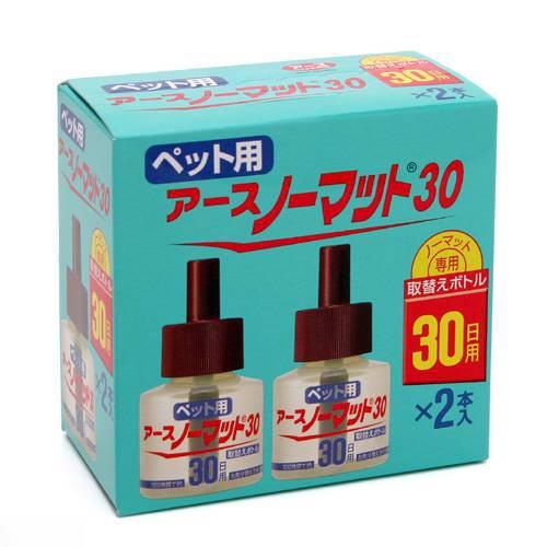 ペット用 アースノーマット 30日用取替えボトル 45mL 2本入 関東当日便
