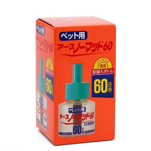 ペット用 アースノーマット 60日用取替えボトル 45mL 関東当日便