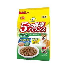 ビタワン 5つの健康バランス 低脂肪 チキン味・野菜・小魚入り 1.2kg ドッグフード ビタワン 関東当日便