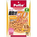 ペティオ おいしくスリム 脂肪分約70%オフ ササミビッツ 80g 犬 おやつ ささみ 関東当日便