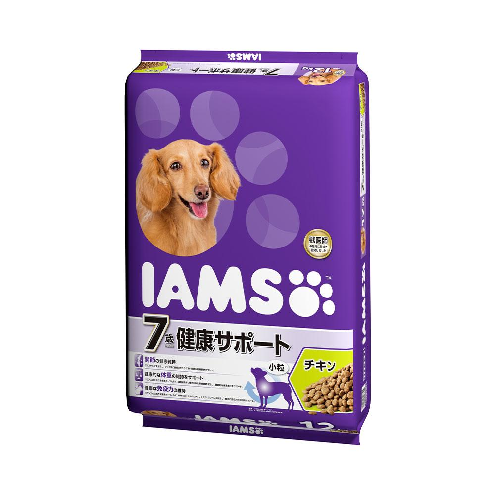 アイムス 7歳以上用 健康サポート チキン 12kg 正規品 ドッグフード IAMS 高齢犬用 お一人様1点限り 関東当日便