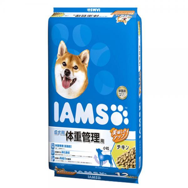 アイムス 体重管理用 チキン 12kg 正規品 ドッグフード IAMS 成犬用 お一人様1点限り 関東当日便