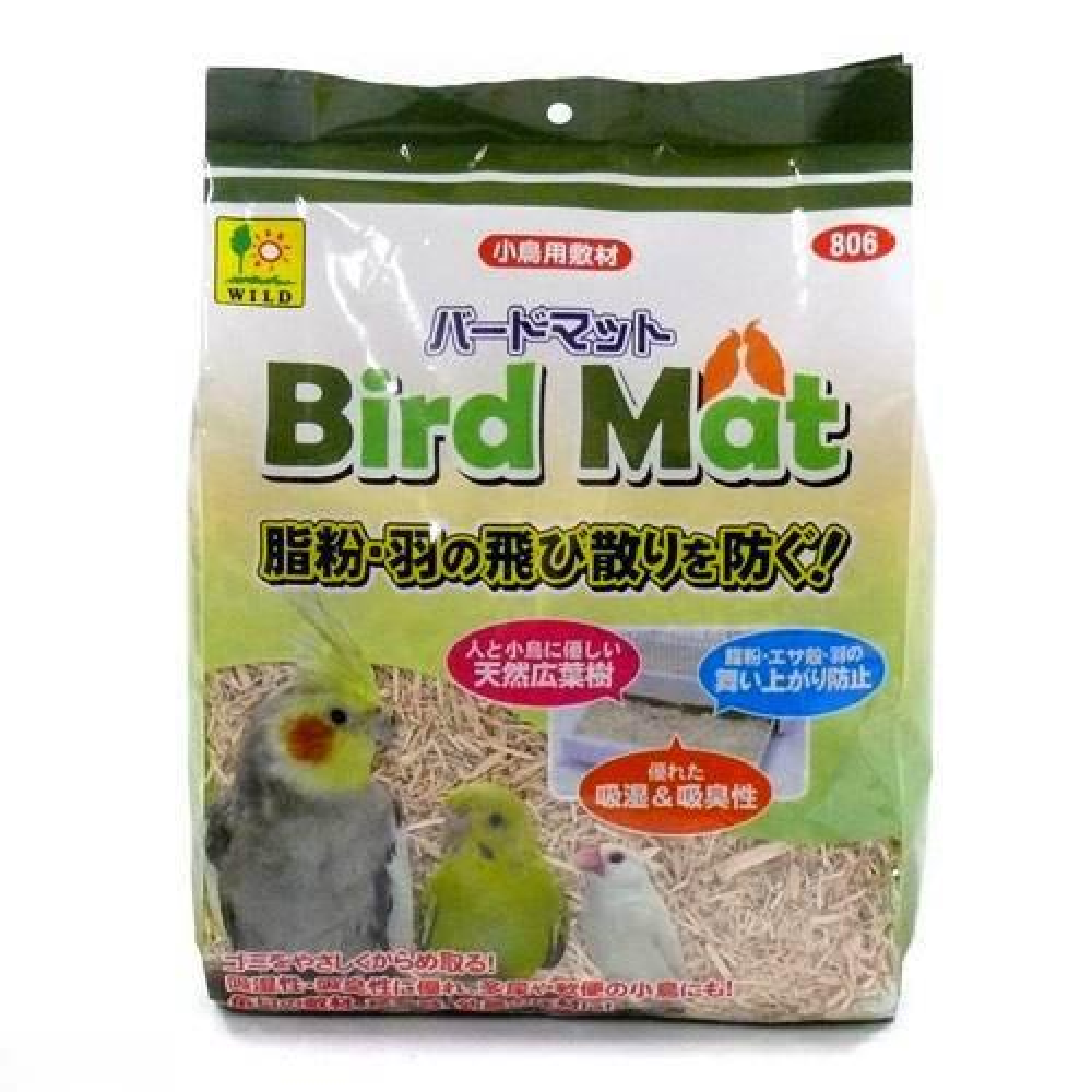 お一人様10点限り 三晃商会 SANKO バードマット 5L 鳥 敷材 関東当日便