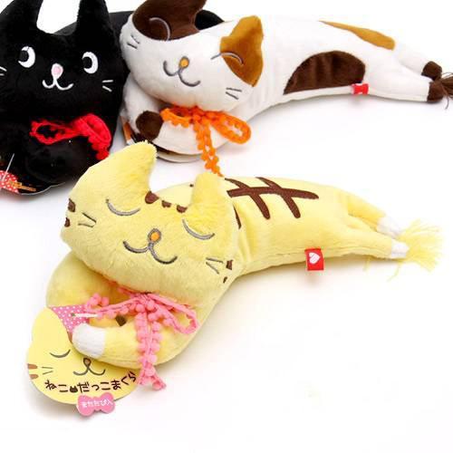 ボンビ ねこだっこまくら トラ 猫 猫用おもちゃ ぬいぐるみ 関東当日便