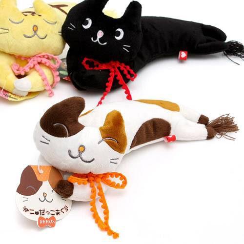 ボンビ ねこだっこまくら ミケ 猫 猫用おもちゃ ぬいぐるみ 関東当日便