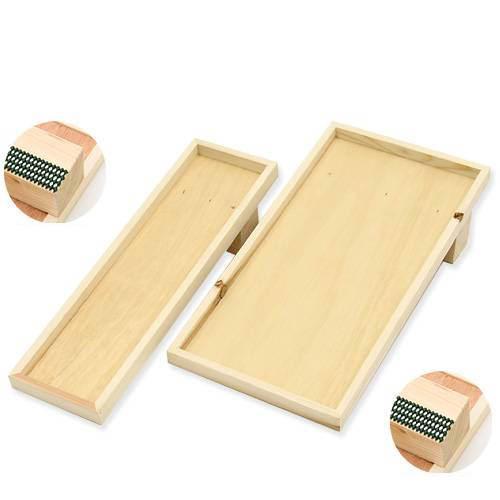猫 爪とぎ(つめとぎ)用木枠セット 木枠斜め式(フロア用ワイド)+木枠斜め式(フロア用)(木枠のみ) 猫の爪みがき