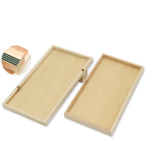 猫 爪とぎ(つめとぎ)用木枠セット 木枠斜め式(フロア用ワイド)+木枠ワイド (木枠のみ) 猫の爪みがき