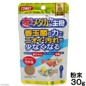 コメット 赤ちゃんメダカの主食 納豆菌 30g めだか エサ 餌 えさ 関東当日便