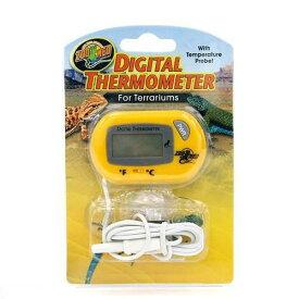 ZOOMED デジタル サーモメーター テラリウム用 (温度計) 爬虫類 両生類 関東当日便
