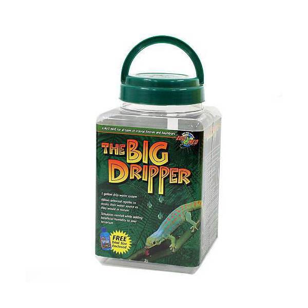 ZOOMED THE BIG DRIPPER ビッグドリッパー 爬虫類 水やり器 関東当日便