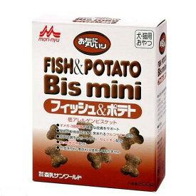 森乳 ワンラック お気にいり フィッシュ&ポテト ビスミニ 200g 犬 猫 おやつ ワンラック 関東当日便