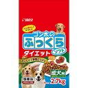 サンライズ ゴン太のふっくらソフト ダイエット 成犬用 2.7kg(225g×12パック) ドッグフード 関東当日便