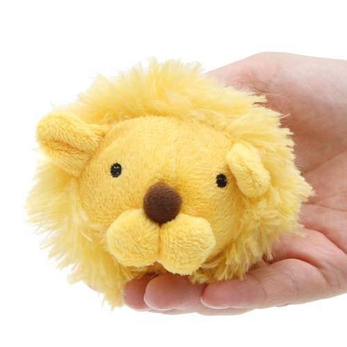 ペッツルート まんまるズーズー ライオン 犬 犬用おもちゃ ぬいぐるみ 関東当日便