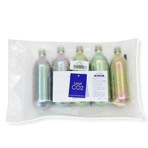 Leaf CO2 ボンベ 74g 10本セット Q10サポートエレメンツ30mL付き 炭酸ボンベ 汎用品 新瓶 関東当日便