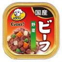 箱売り ビタワングー 成犬用 ビーフ・野菜 100g 1箱24個 ドッグフード ビタワン 関東当日便