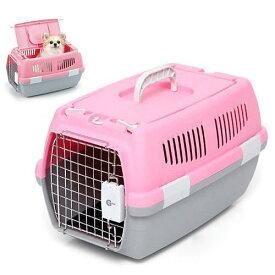 マルカン 2ドアキャリー 小型犬・猫用 ピンク 犬 猫 キャリーバッグ キャリーケース(5kgまで) 関東当日便