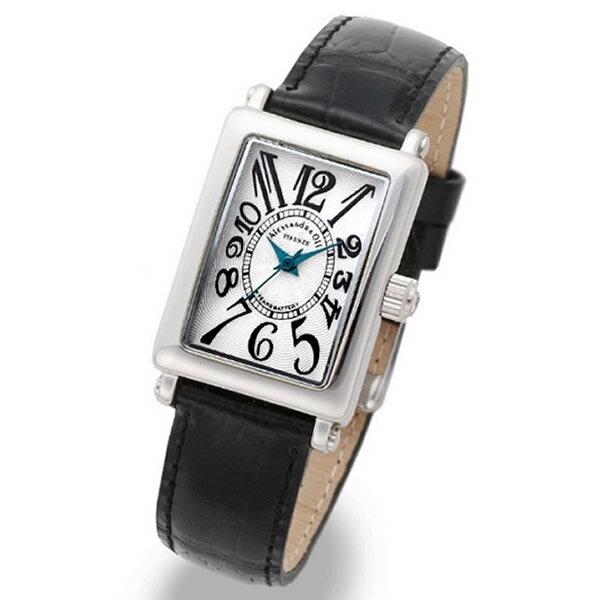 Alessandra Olla アレッサンドラオーラ 腕時計 AO-1500-18BK レディース レディース トノー型 文字盤カラー ホワイト ブラック【セール sale】【記念日】【ギフト】【ビジネス】【誕生日】 アレサンドラオーラ 時計