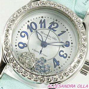 Alessandra Olla アレッサンドラオーラ 腕時計 AO-4100BL レディース【記念日】【ギフト】【スタイリッシュ】【セレブ】【ビジネス】【誕生日】 アレサンドラオーラ 時計
