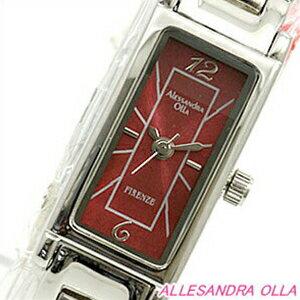 Alessandra Olla アレッサンドラオーラ 腕時計 AO-500-5RE レディース レディースブレスウォッチ【セレブ】【ギフト】【記念日】【ビジネス】【誕生日】 アレサンドラオーラ 時計