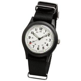 【国内正規品】ALPHA INDUSTRIES アルファインダストリーズ 腕時計 ALW-46374-1A2BK メンズ Military ミリタリー クオーツ
