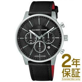 【正規品】ANGEL CLOVER エンジェル クローバー 腕時計 NNC42SBK-BK メンズ NUMBER (N)INE ナンバーナイン クロノグラフ クオーツ