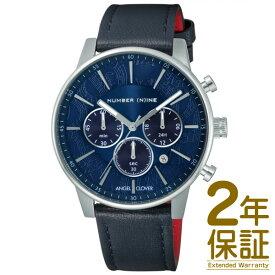 【正規品】ANGEL CLOVER エンジェル クローバー 腕時計 NNC42SNV-NV メンズ NUMBER (N)INE ナンバーナイン クロノグラフ クオーツ