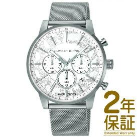 【正規品】ANGEL CLOVER エンジェル クローバー 腕時計 NNC42SWH メンズ NUMBER (N)INE ナンバーナイン クロノグラフ クオーツ
