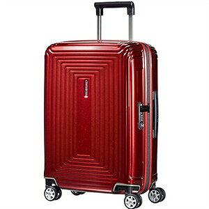 【ラッピング不可】Samsonite サムソナイト スーツケース 65752 1544 55cm 38L Neopulse Spinner ネオパルス スピナー キャリーバッグ キャリーケース メタリック レッド ライン