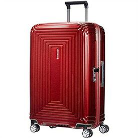 【ラッピング不可】Samsonite サムソナイト スーツケース 65753 1544 Neopulse Spinner ネオパルススピナー 69cm 74L メタリックレッド キャリーバッグ キャリーケース