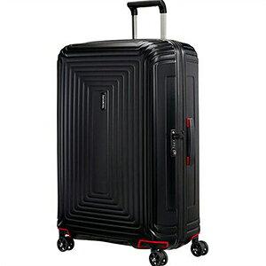 【ラッピング不可】Samsonite サムソナイト スーツケース 65753 4386 Neopulse Spinner ネオパルススピナー 69cm 74L マットブラック キャリーバッグ キャリーケース