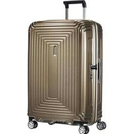 【ラッピング不可】Samsonite サムソナイト スーツケース 65753 4535 69cm 74L Neopulse Spinner ネオパルススピナー メタリックサンド キャリーバッグ キャリーケース