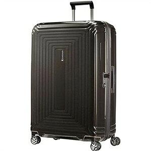 【ラッピング不可】Samsonite サムソナイト スーツケース 65754 2368 75cm 94L Neopulse Spinner ネオパルススピナー メタリックブラック キャリーバッグ キャリーケース