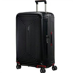 【ラッピング不可】Samsonite サムソナイト スーツケース 65754 4386 75cm 94L Neopulse Spinner ネオパルス スピナー キャリーバッグ キャリーケース マットブラック ライン