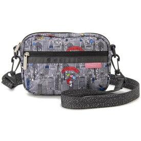 LeSportsac レスポートサック 3470 G732 レディース ショルダーバッグ CROSSBODY BELT BAG Hello Kitty ハローキティ・シティ グレー