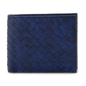monte SPIGA モンテスピガ MOSQS371NV メンズ 二つ折り財布