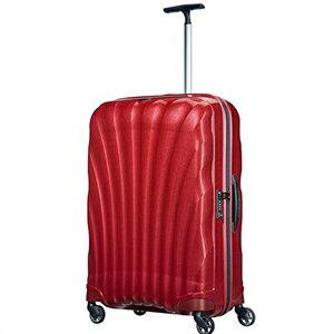 【ラッピング不可】Samsonite サムソナイト スーツケース 73351 1726 Cosmolite Spinner コスモライトスピナー 75cm 94L レッド キャリーバッグ キャリーケース