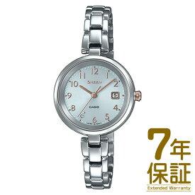 【正規品】CASIO カシオ 腕時計 SHS-D200D-7AJF レディース SHEEN シーン スワロフスキークリスタル ソーラー