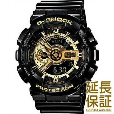 【レビュー記入確認後10年保証】カシオ 腕時計 CASIO 時計 正規品 GA-110GB-1AJF メンズ G-SHOCK ジーショック Black × Gold Series ブラック×ゴールドシリーズ
