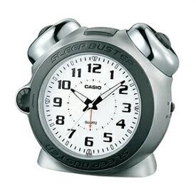 【正規品】CASIO カシオ クロック TQ-645S-8JF 目覚まし時計 大音量ベルアラーム