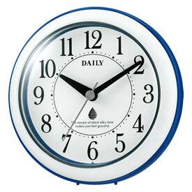 【正規品】RHYTHM リズム時計 クロック 60サイズ 4KG711DN04 CITIZEN シチズン 掛置兼用時計 アクアパークDN