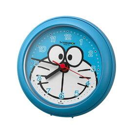 【正規品】RHYTHM リズム時計 クロック 4KG716DR04 CITIZEN シチズン バスクロックR716/アイムドラえもん 掛置兼用時計
